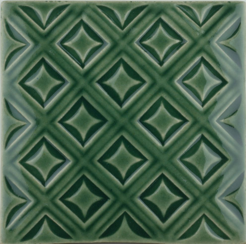 Sarsden Latice Forest Green tile