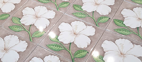 See more hand painted tiles here...