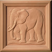Animal Terracotta Plaques