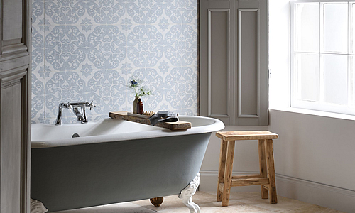 Living Tiles. Our new range of large format decorative tiles.
