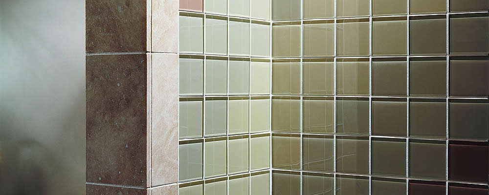 Glass Tiles Clear 100x100x10mm