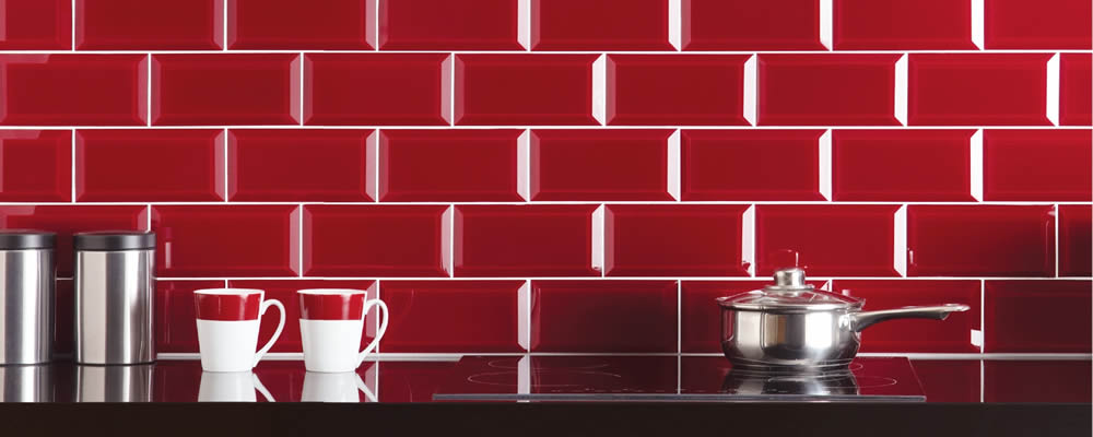 Glass Tiles Clear Ebro Bevelled GW-EBO2010B