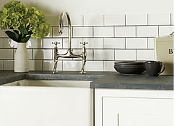 Helmingham Gloss Half Tiles  (Photo: Winchester Tile Co)