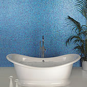 Crystal Blue Mantra Mosaic