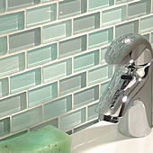 Volta Clear Brickbond Mosaic 24x48mm