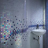 Iridescent 20mm Glass Mosaic