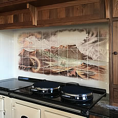 Battle Of Dunsinane Installed in our client's kitchen in Scotland