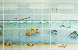 Underwater Triptych Centre panel