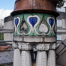 One of the Dome Turrets